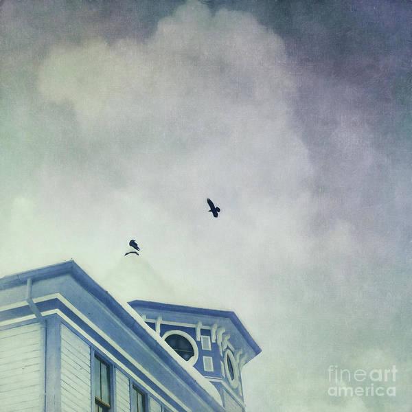 Roof Top Photograph - Don't Wait Around by Priska Wettstein