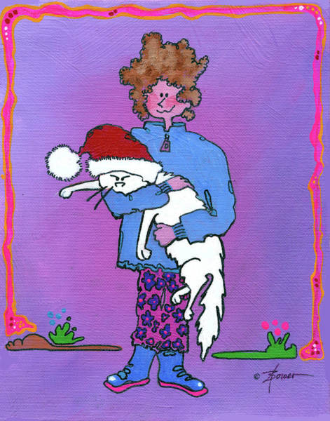 Painting - Don't You Just Love Christmas by Adele Bower