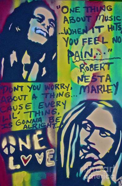 Rasta Painting - Don't You Worry by Tony B Conscious