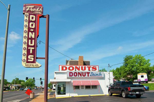 Photograph - Donut Drive In by Steve Stuller