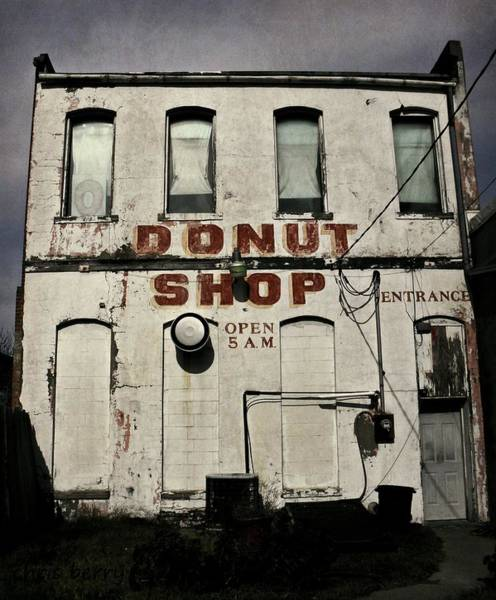 Wall Art - Photograph - Donut Shop by Chris Berry
