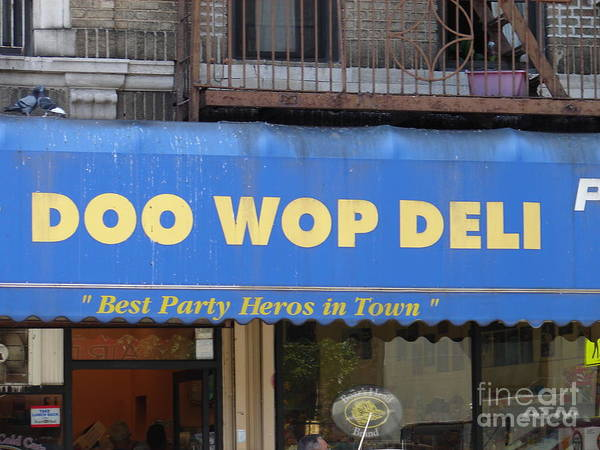 Photograph - Doo Wop Deli by Cole Thompson