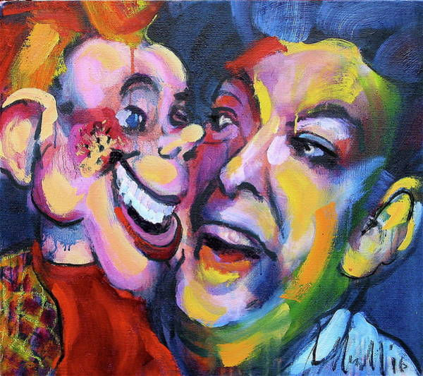 Painting - Doody And Bob by Les Leffingwell