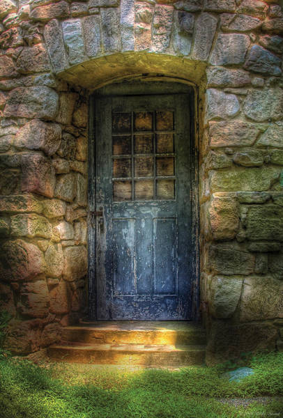 Photograph - Door - A Rather Old Door Leading To Somewhere by Mike Savad