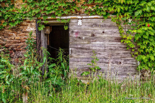 Photograph - Door Ajar by Christopher Holmes