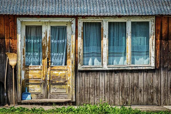 Photograph - Door And Windows - Romania by Stuart Litoff
