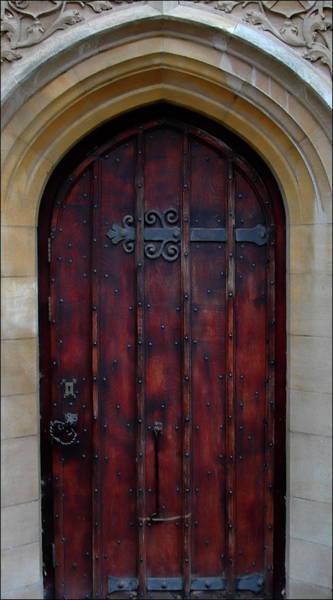 Bath Abbey Photograph - Door At Bath Abbey by Tony Grider