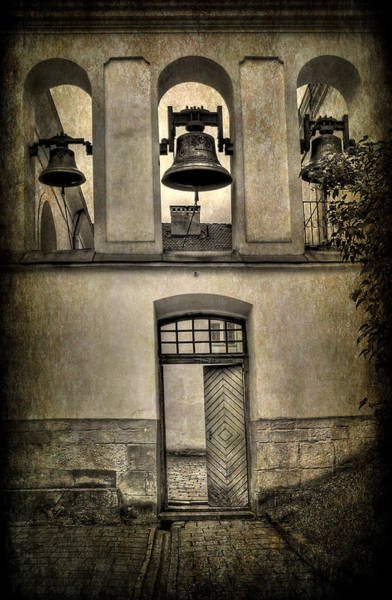 Wall Art - Photograph - Door Bells by Evelina Kremsdorf