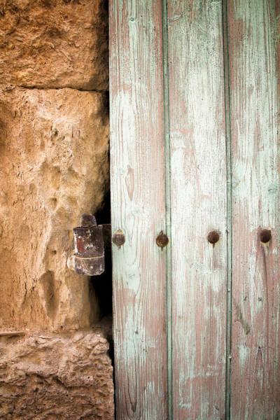 Photograph - Door Detail  by Georgia Fowler