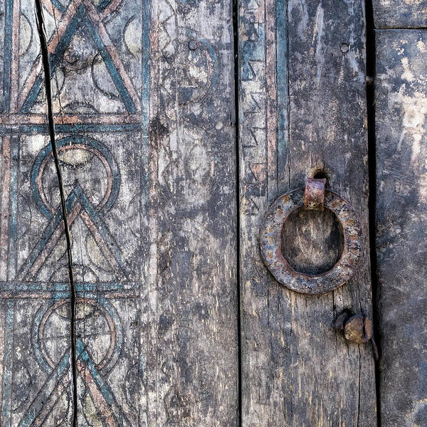New Age Wall Art - Photograph - Door Detail Santa Fe by Carol Leigh