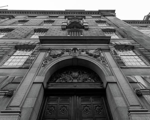 Photograph - Door Frame Of London Thames House by Jacek Wojnarowski