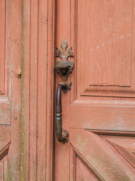 Photograph - Door Handle II by Helen Northcott