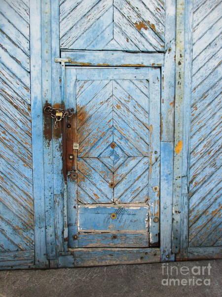 Photograph - Door In Elvas by Chani Demuijlder