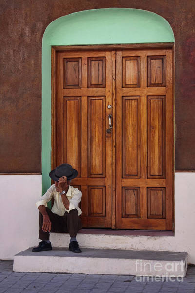 Photograph - Door In Guatemala by Tatiana Travelways