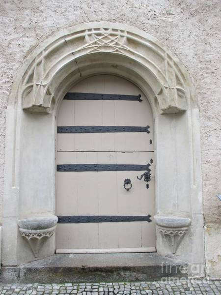 Photograph - Door In Wittenberg by Chani Demuijlder