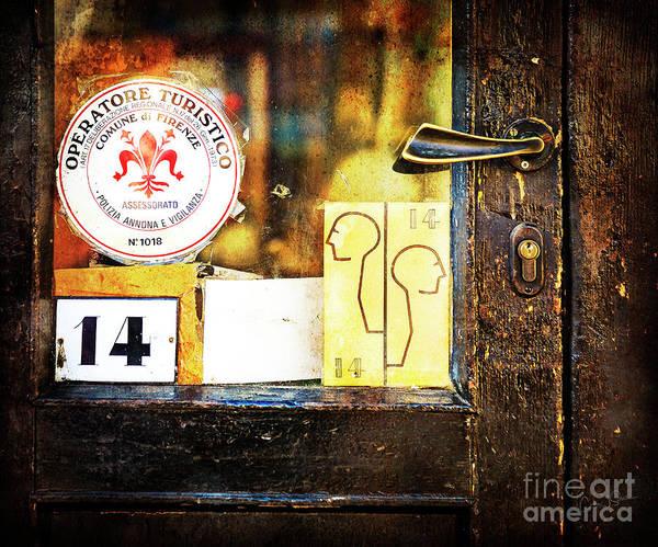 Photograph - Door Latch 14 by Craig J Satterlee