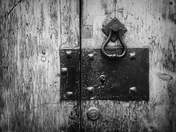 Photograph - Door Latch In Angra Do Heroismo I by Kelly Hazel