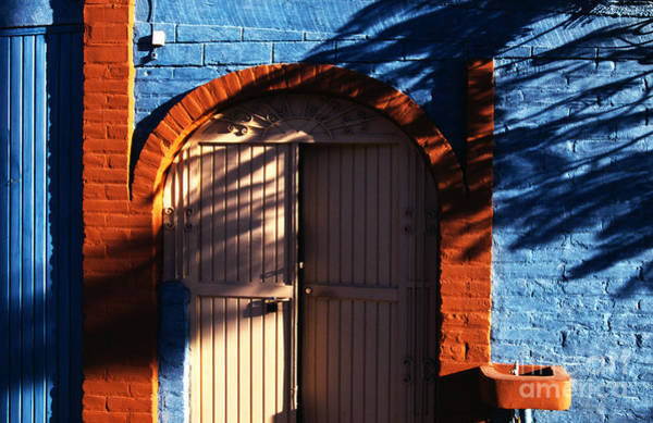 Photograph - Door Light And Shadow by Thomas R Fletcher