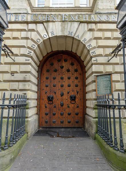 Photograph - Door Of Corn Exchange Building Bristol by Jacek Wojnarowski