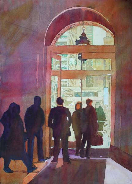 Painting - Door To Chicago by Jenny Armitage