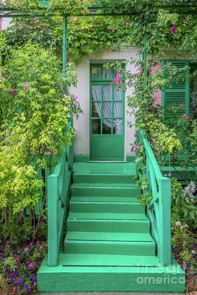 Claude Monet Photograph - Door To Claude Monet's Home, Giverny 2 by Liesl Walsh