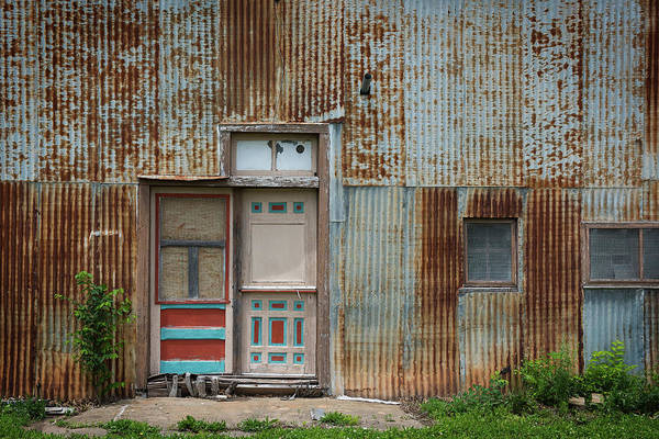 Photograph - Door, Toronto, Kansas by Bud Simpson