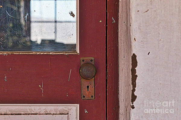 Photograph - Door Window Wall by Ana V Ramirez