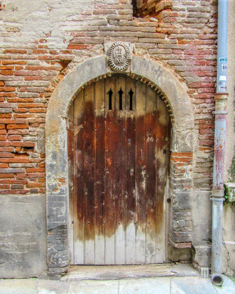Wall Art - Photograph - Door With Three Lites In Toulouse by W Chris Fooshee