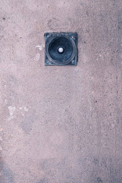 Wall Art - Photograph - Doorbell by Joana Kruse
