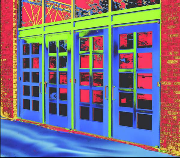 Digital Art - Doorplay by Wendy J St Christopher