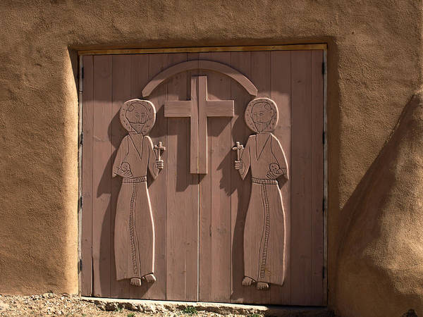 Photograph - Doors At St Francis Of Assisi Mission by Mary Capriole