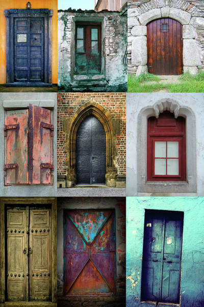 Wall Art - Digital Art - Doors  by Mark Ashkenazi