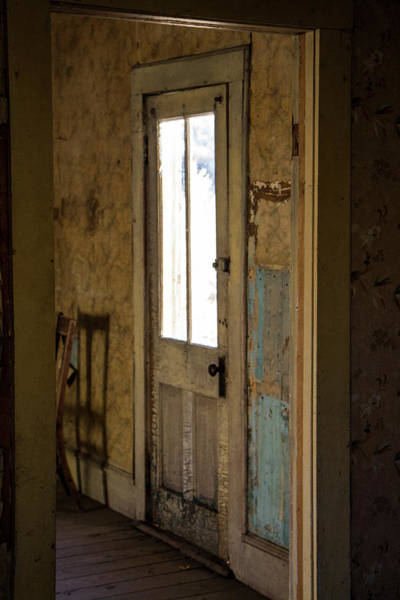 Photograph - Doors Of Bannack 2 by Teresa Wilson