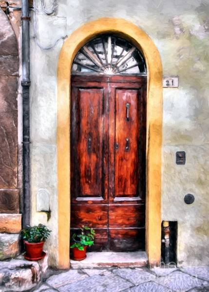 Photograph - Doors Of Italy by Mel Steinhauer