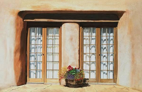 Mary Rogers Painting - Doors Of Santa Fe by Mary Rogers