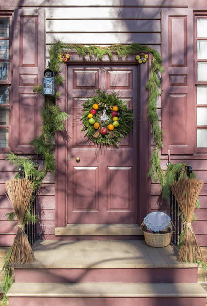 Royal Colony Photograph - Doors Of Williamsburg 72 by Teresa Mucha