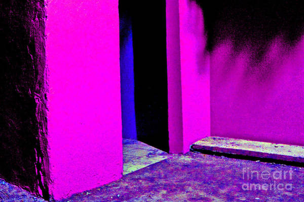 Photograph - Doorway At Night by Michael Arend