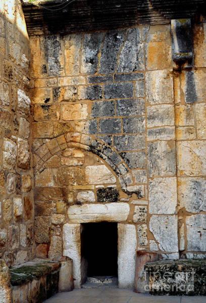 Wall Art - Photograph - Doorway Church Of The Nativity by Thomas R Fletcher