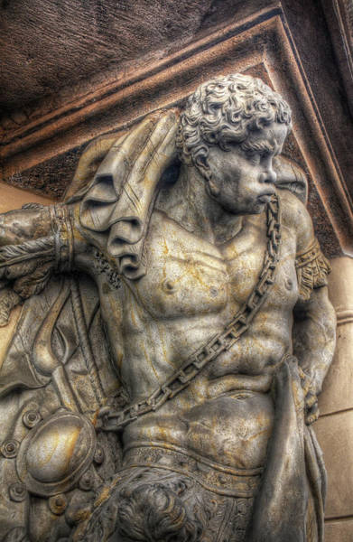 Photograph - Doorway Guardian Mala Strana by Michael Kirk