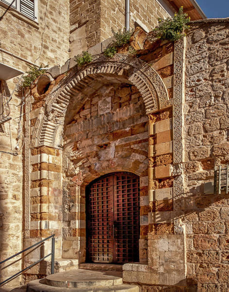 Photograph - Doorway In Akko by Endre Balogh