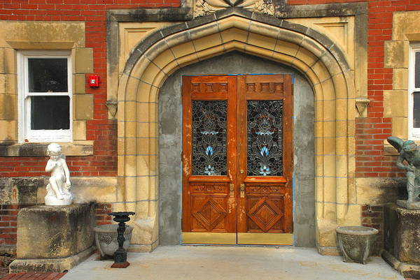 Wall Art - Photograph - Doorway Of Many Histories by Edward Loesch