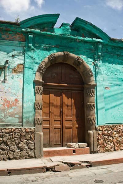 Guatemala Photograph - Doorway Quezaltenango Guatemala 1 by Douglas Barnett