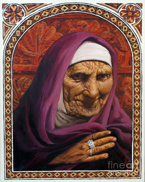 Painting - Dorcas - Lgdor by Louis Glanzman