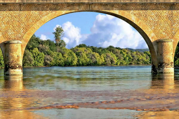 Photograph - Dordogne River Scenic by Anthony Dezenzio