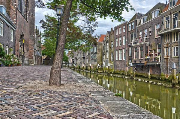 Dordrecht Behind The Church Art Print