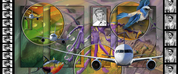 Digital Art - Doris Flies by Steve Sperry