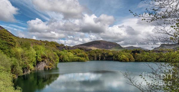 Mine Photograph - Dorothea Quarry by Adrian Evans