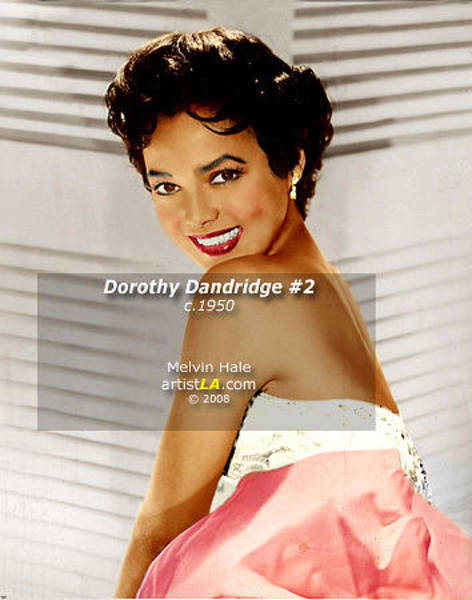 Wall Art - Painting - Dorothy Dandridge II Circa 1950s by Melvin Hale