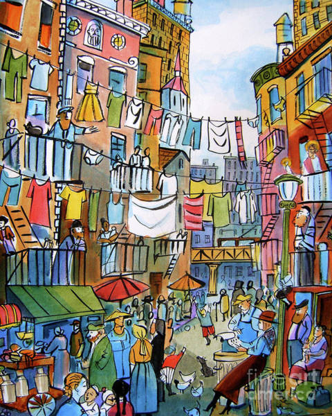 Painting - Dorothy Day Lower Eastside - Mmddl by Br Mickey McGrath OSFS