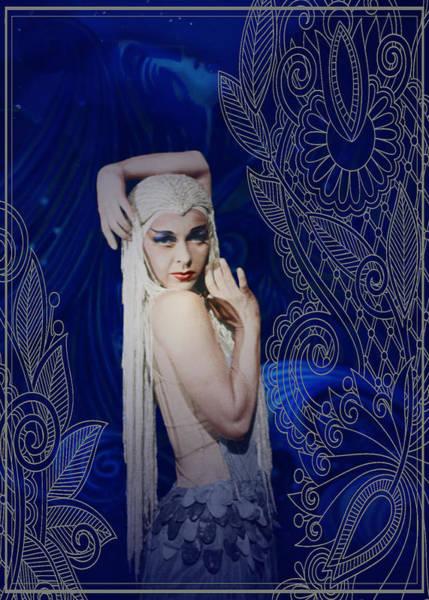 Photograph - Dorothy Stevenson Colorized by Robert G Kernodle